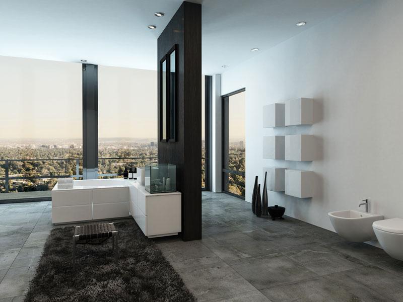Badezimmer Einrichten. Eine Dusche Oder Lieber Eine Freistehende Badewanne?