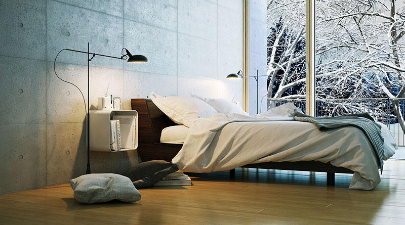 Der ideale Platz fürs Bett
