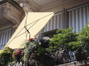 Privacy auf dem Balkon