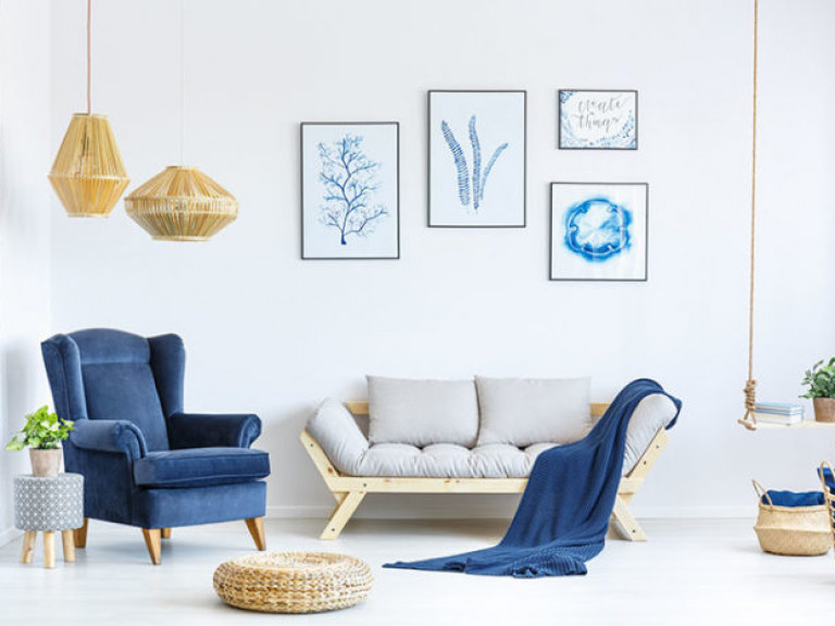 Lieblingsfarbe Blau: Wohntipps & Dekoideen