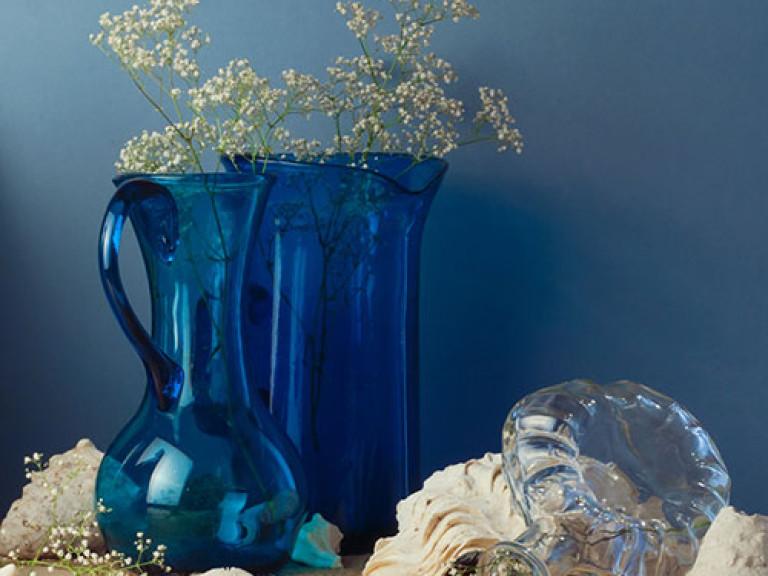 Wohnaccessoires und Deko in Blau
